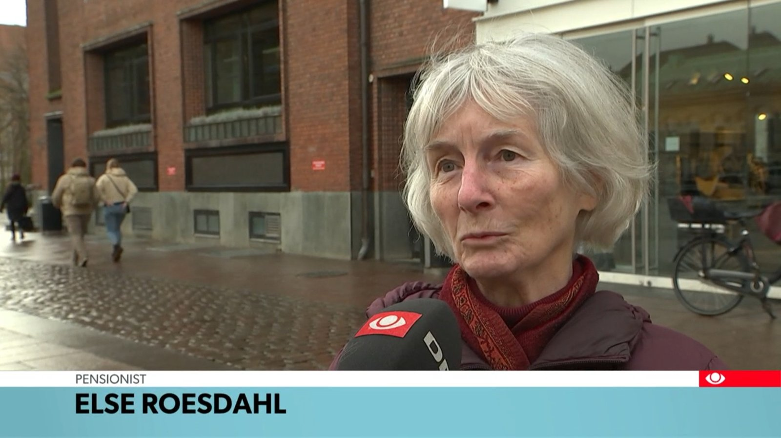 Else Roesdah TV Avisen 28 Jan 2