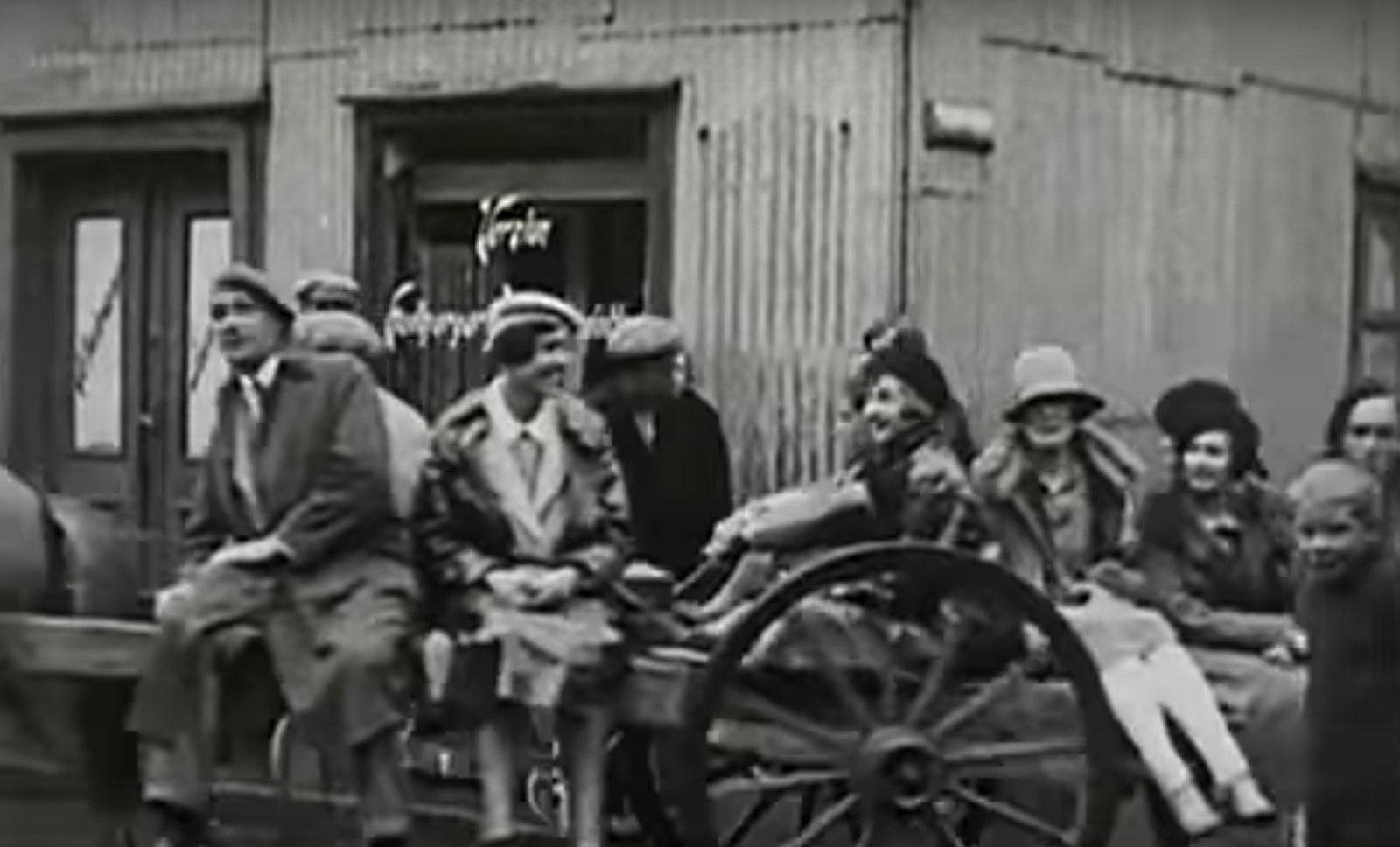 Tourists in Rkv 1926
